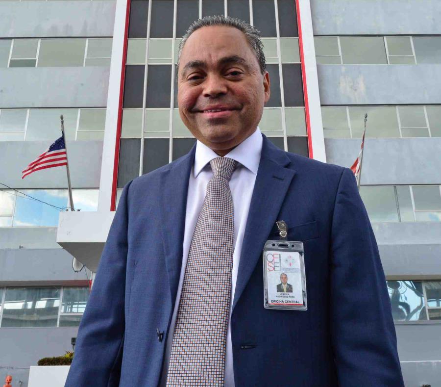 Jesús Rodríguez, el administrador del CFSE. (semisquare-x3)