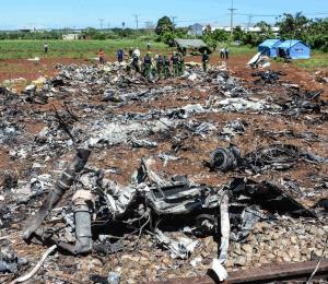 Sobreviviente de accidente de avión en Cuba envía mensaje