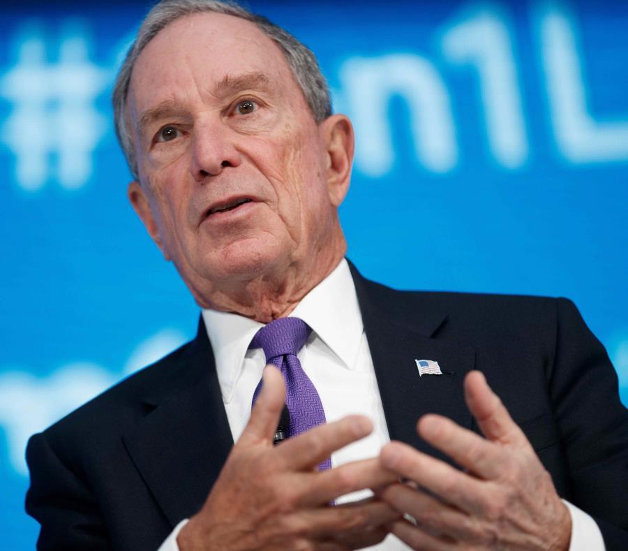 Michael Bloomberg abandonó el Partido Demócrata en 2001. (GFR Media) (semisquare-x3)