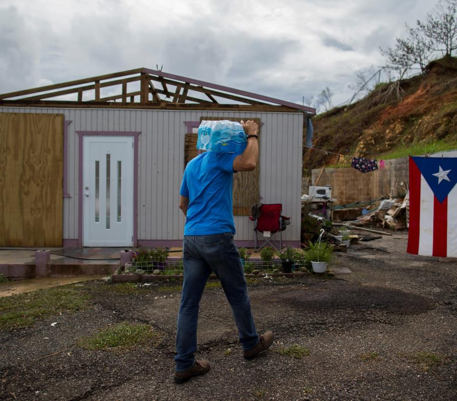 El tercer sector será clave en el proceso de reconstrucción de Puerto Rico, tras la devastación causada por el paso del  huracán María. (Archivo / GFR Media) (semisquare-x3)