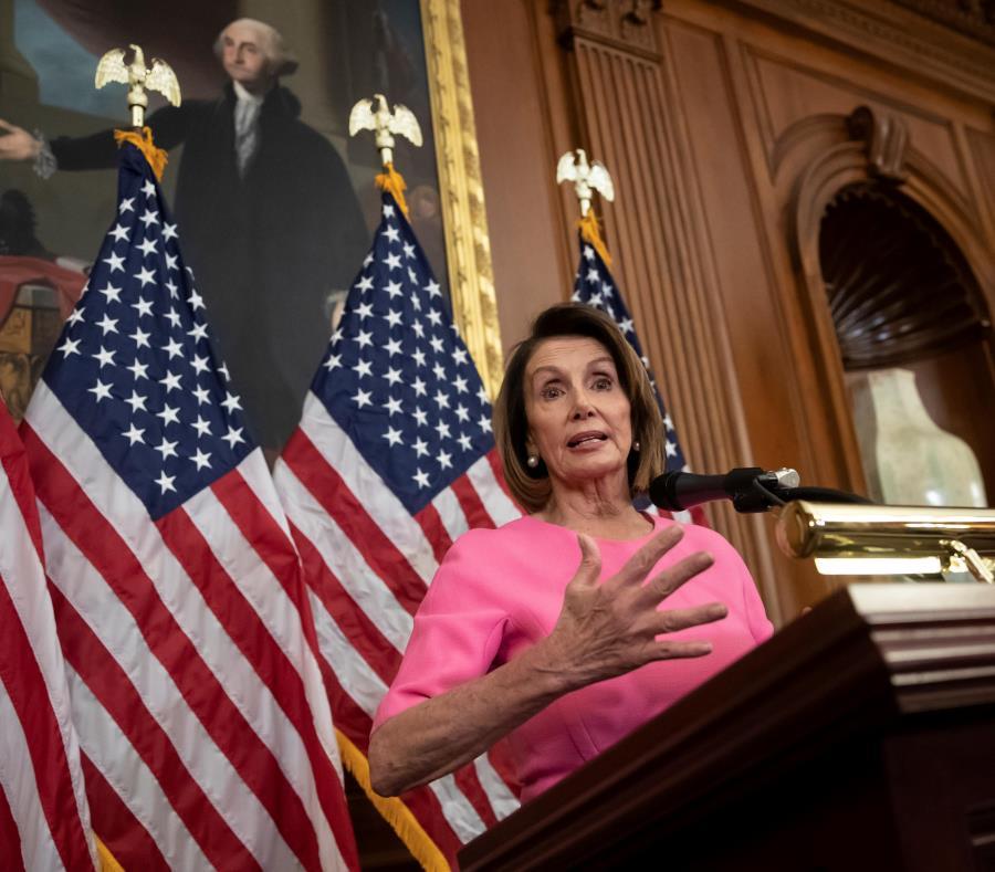 Nancy Pelosi, actual líder de la minoría demócrata, es favorita para ser la próxima speaker. (AP / J. Scott Applewhite) (semisquare-x3)