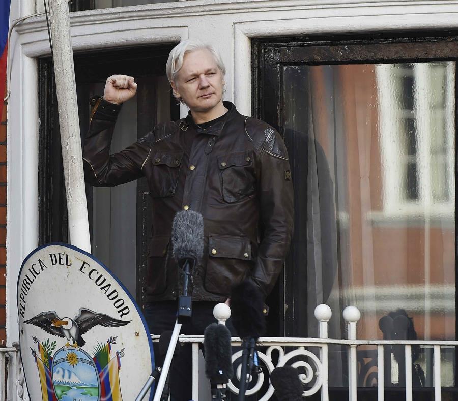 Julian Assange fue inculpado en Estados Unidos, según WikiLeaks