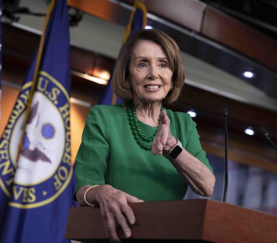 """La mayoría de los demócratas consideran el muro """"inmoral, ineficaz y caro"""", asegura Nancy Pelosi. (AP / J. Scott Applewhite) (semisquare-x3)"""