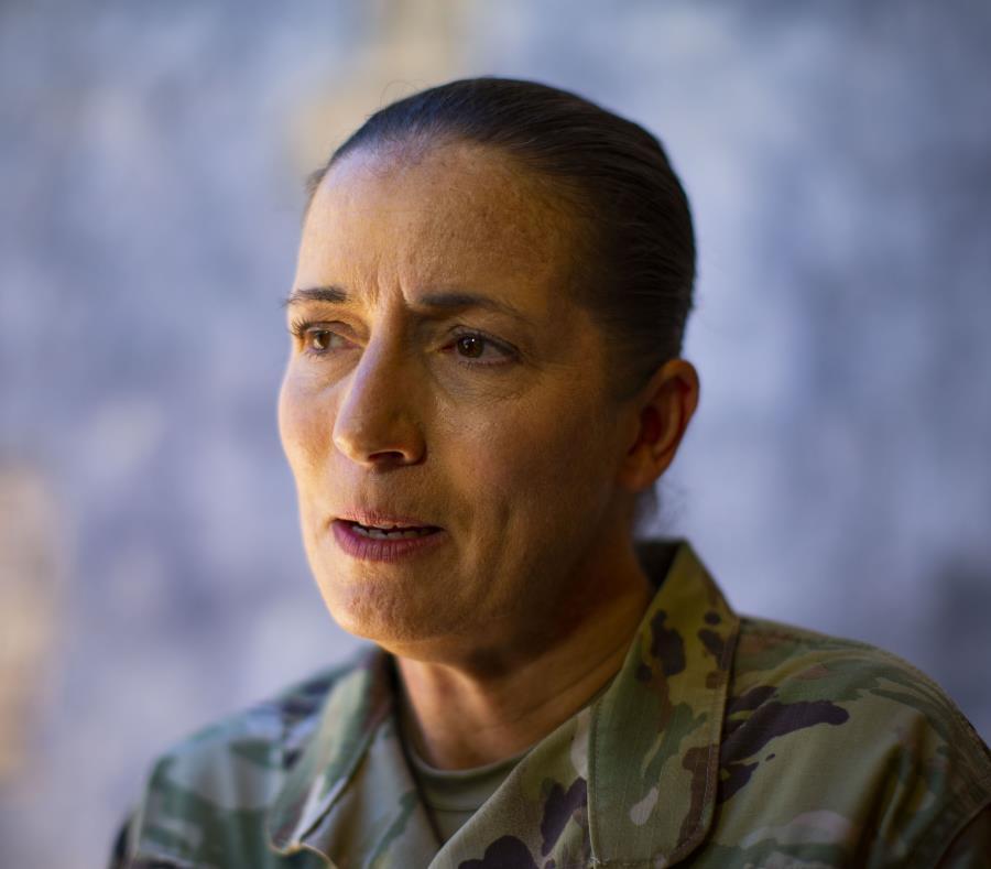 Durante la respuesta a la crisis creada por el paso del huracán María, la Reserva movilizó unos 2,000 soldados, informó la general de brigada Dustin A. Shultz (arriba). (semisquare-x3)