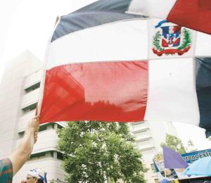 Corazón henchido de patriotismo dominicano