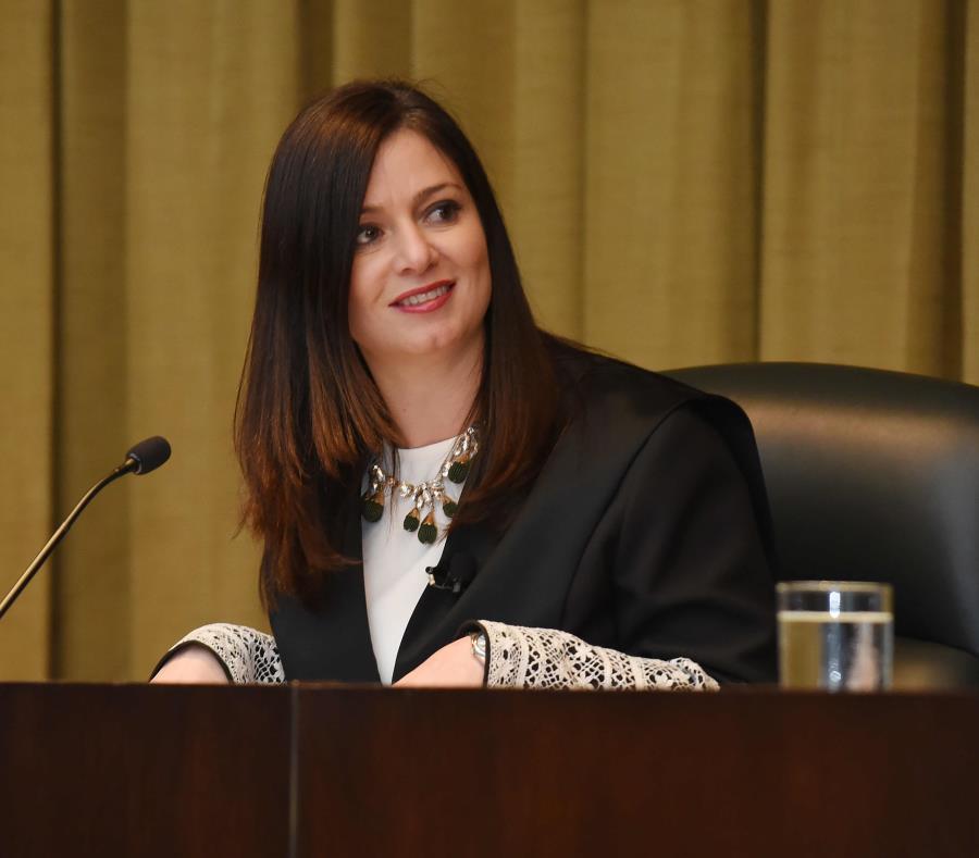 La jueza del Tribunal Supremo, Maite Oronoz Rodríguez. (GFR Media) (semisquare-x3)