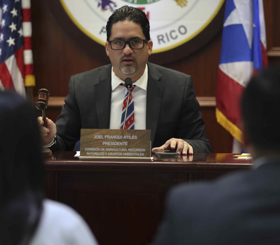 El representante Joel Franqui Atiles es el autor de la medida. (GFR Media) (semisquare-x3)