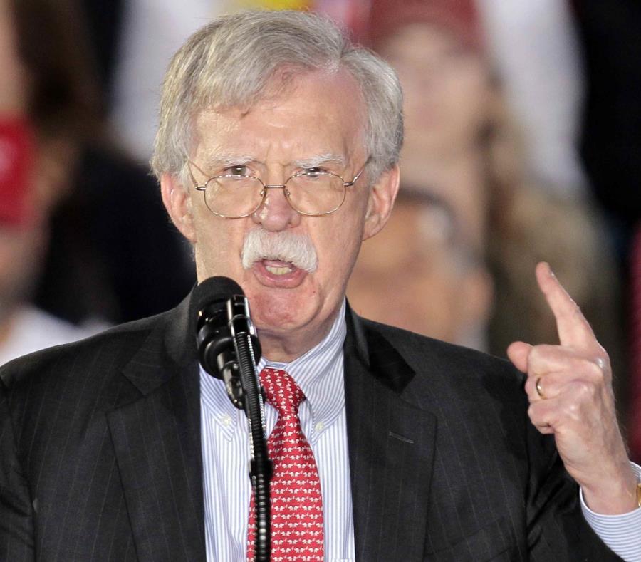 Se espera que John Bolton, el asesor en Seguridad de la Casa Blanca, haga el anuncio mañana cuando se dirija a un grupo de excombatientes de la invasión a la Bahía de Cochinos en 1961. (AP / Luis M. Álvarez) (semisquare-x3)