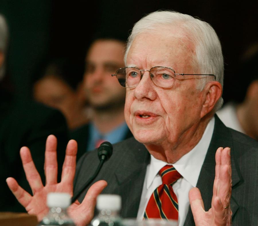 Carter es el expresidente más longevo de la historia del país. (Getty Images/Mark Wilson) (semisquare-x3)