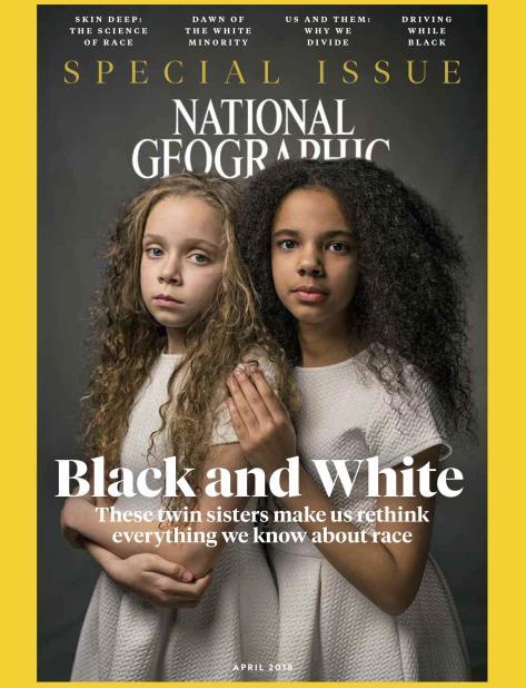 Imagen de la portada que será publicada en abril y que tratará el tema del racismo. (AP) (vertical-x1)