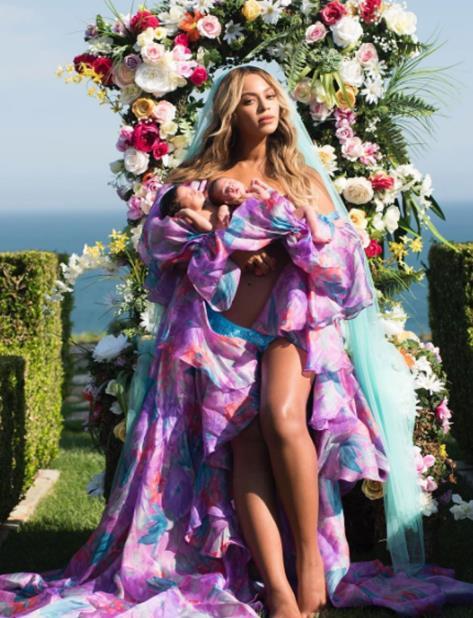 Beyoncé anunció su embarazo en febrero pasado. (vertical-x1)