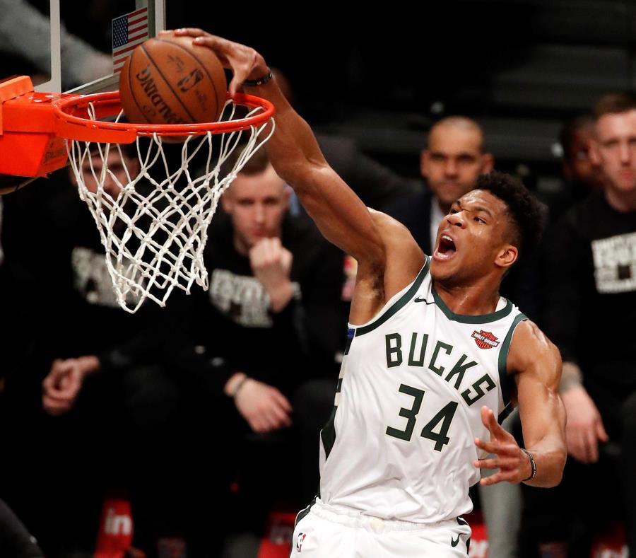 Giannis Antetokounmpo es el MVP de la temporada en la NBA