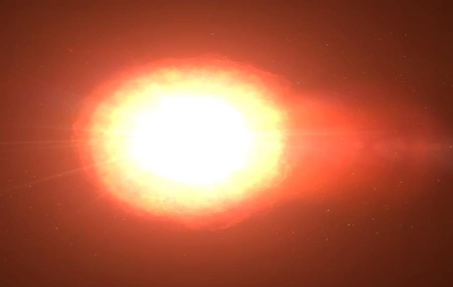 Un telescopio constata que la estrella Betelgeuse se desvanece