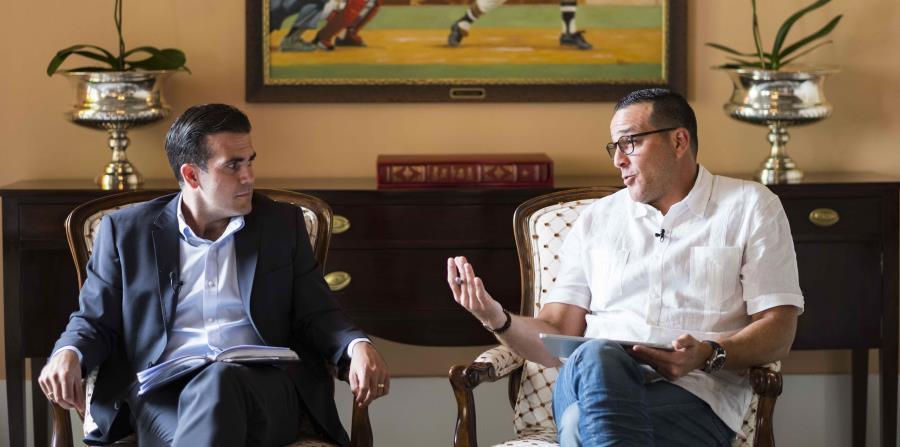 Ricardo Rosselló and Fernando Gil. (horizontal-x3)