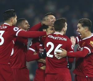 Liverpool le rompe al Manchester City su invicto de 22 partidos