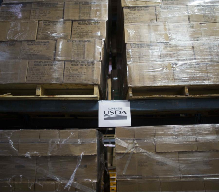 El Banco de Alimentos distribuyó sobre 18 millones de libras de comida. (GFR Media) (semisquare-x3)