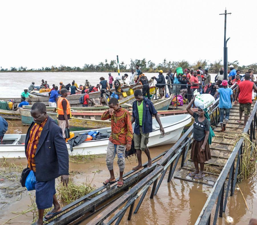 El huracán Idai dejó más de 750,000 damnificados en Mozambique y Zimbabue. (semisquare-x3)