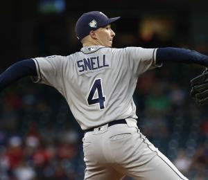 Blake Snell llegó a 20 victorias en la temporada de las Mayores