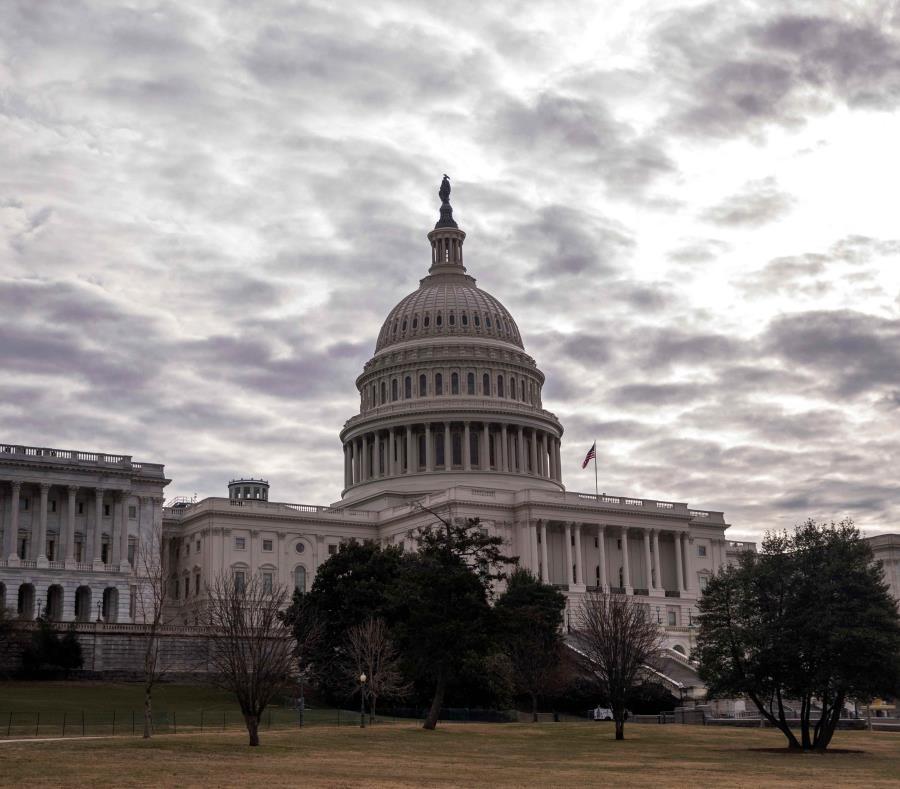 La minoría demócrata puede frenar la legislación por no incluir todas las asignaciones que aprobó la Cámara baja federal en enero pasado. (EFE/Shawn Thew) (semisquare-x3)
