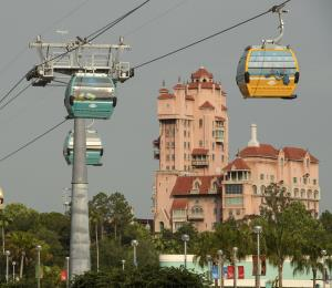 Disney muestra sus nuevas góndolas