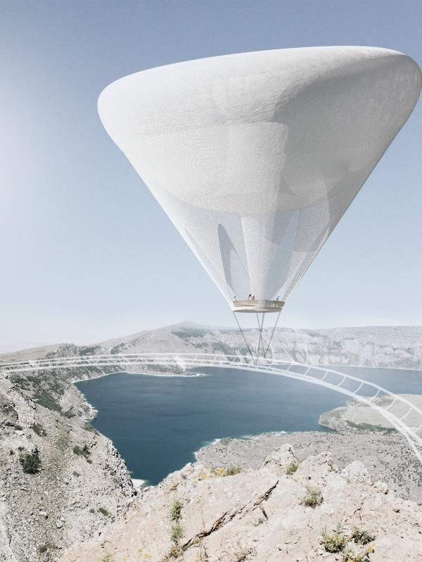 Diseno ganador en competencia de Turquia de Estudiantes Escuela Arquitectura.