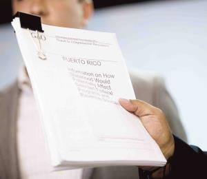 Responder al informe del GAO