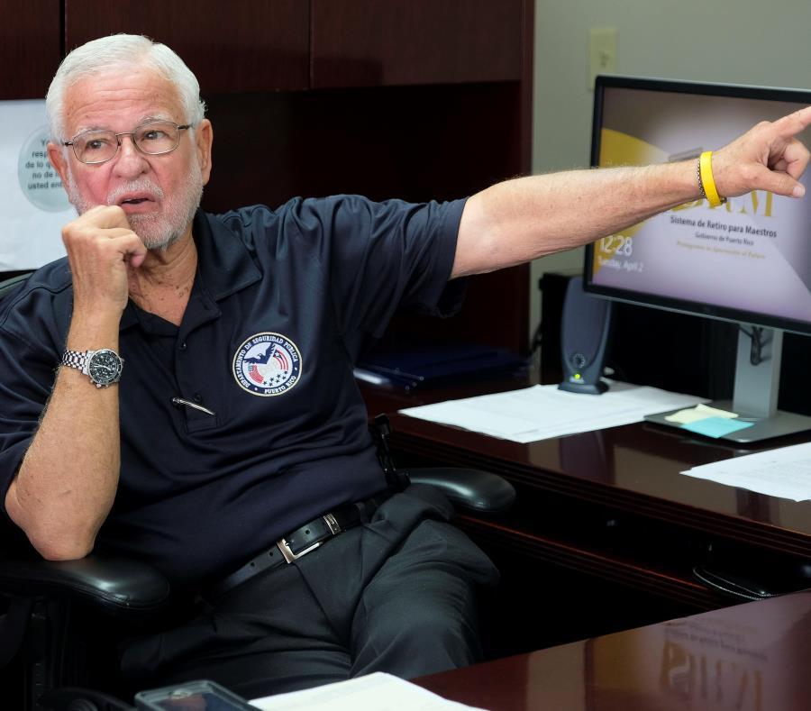 Héctor Pesquera alegó que los problemas fiscales y las secuelas del huracán María afectaron la consolidación del DSP con los negociados que lo componen. (semisquare-x3)