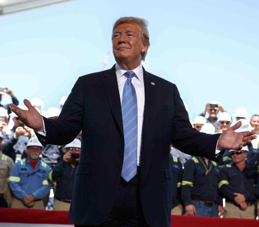 La Organización Trump insiste en que en general las finanzas siguen robustas. En la imagen, el presidente Donald Trump. (AP) (semisquare-x3)