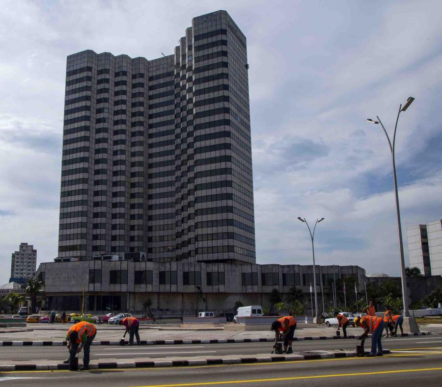 Foto tomada el 15 de septiembre del 2015 del Hotel Melía Cohíba en La Habana (semisquare-x3)