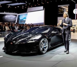 ¿Cuales son los autos más caros mostrados en el 2019 hasta el momento?