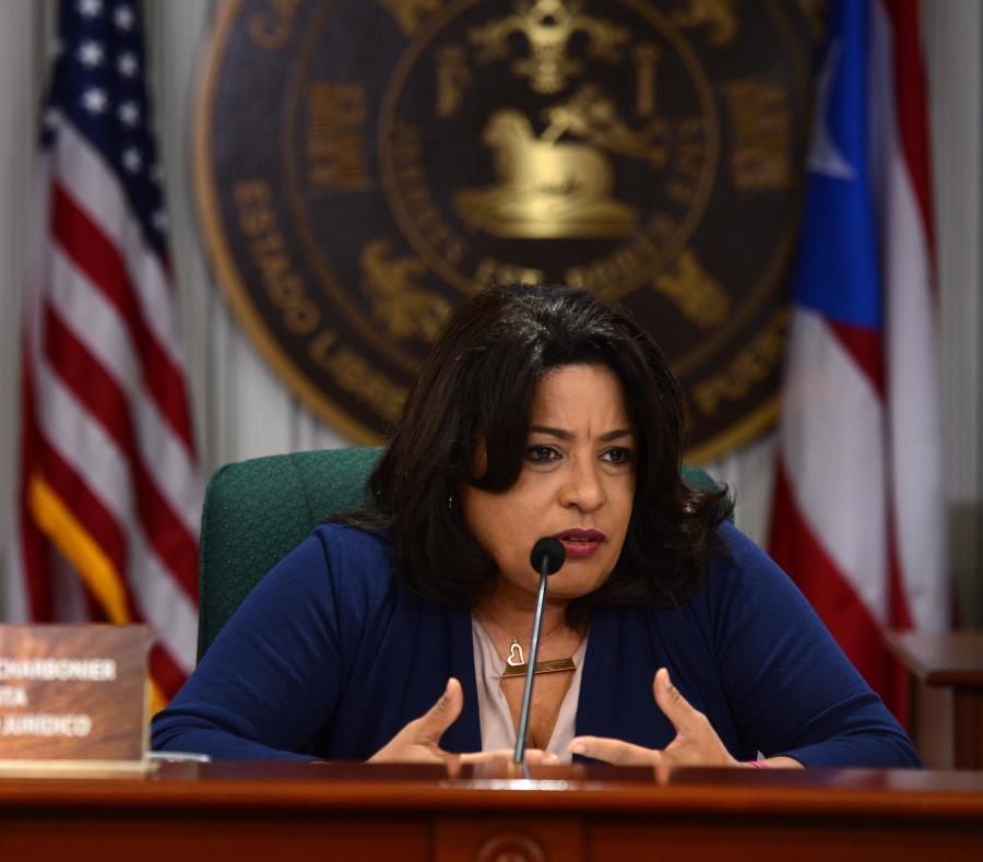 La representante María Milagros Charbonier (semisquare-x3)