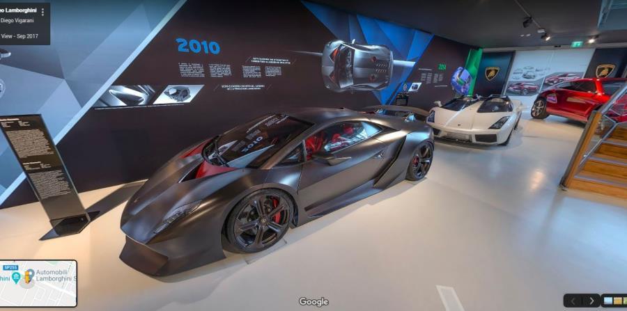 Museo Lamborghini (Google Street View)