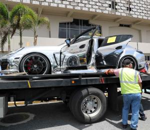Hacienda subastará el lujoso Porsche Panamera ocupado en abril pasado