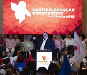 La convención retro del PPD