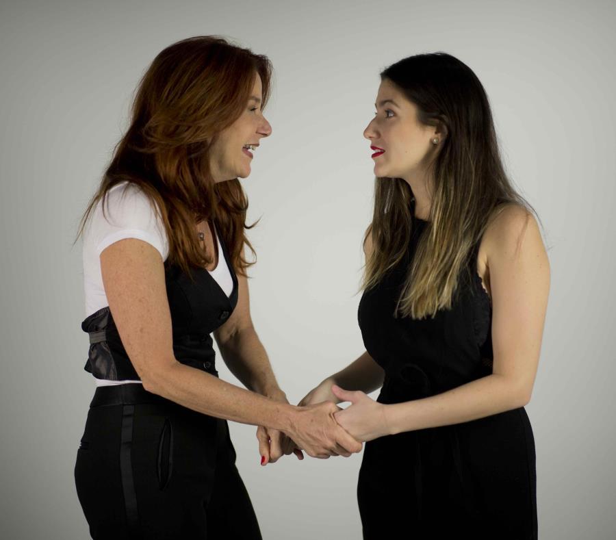 Marian Pabón interpretará números de varios musicales exitosos y, además, tendrá de artista invitada a su hija Ivana (der.). (semisquare-x3)