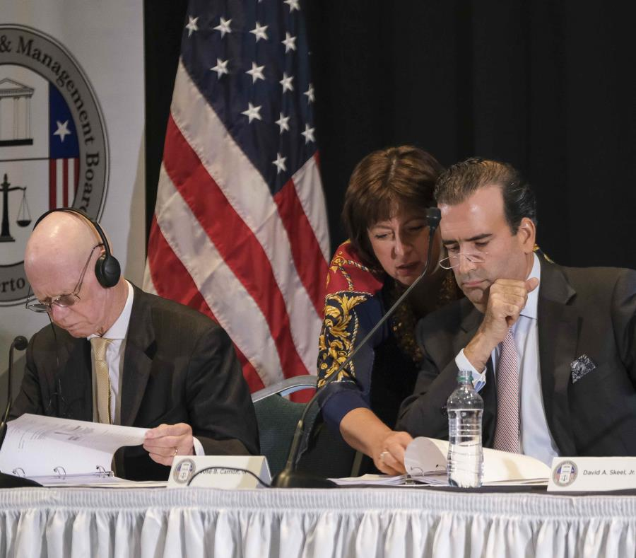 Arthur J. González, Natalie Jaresko, and  Jose B. Carrion III. (GFR Media) (semisquare-x3)
