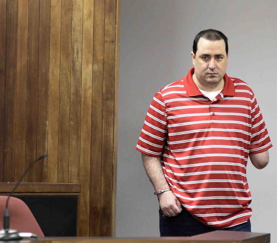 Luis Gustavo Rivera Seijo, conocido como el Manco, no estuvo presente hoy en el tribunal. (GFR Media) (semisquare-x3)