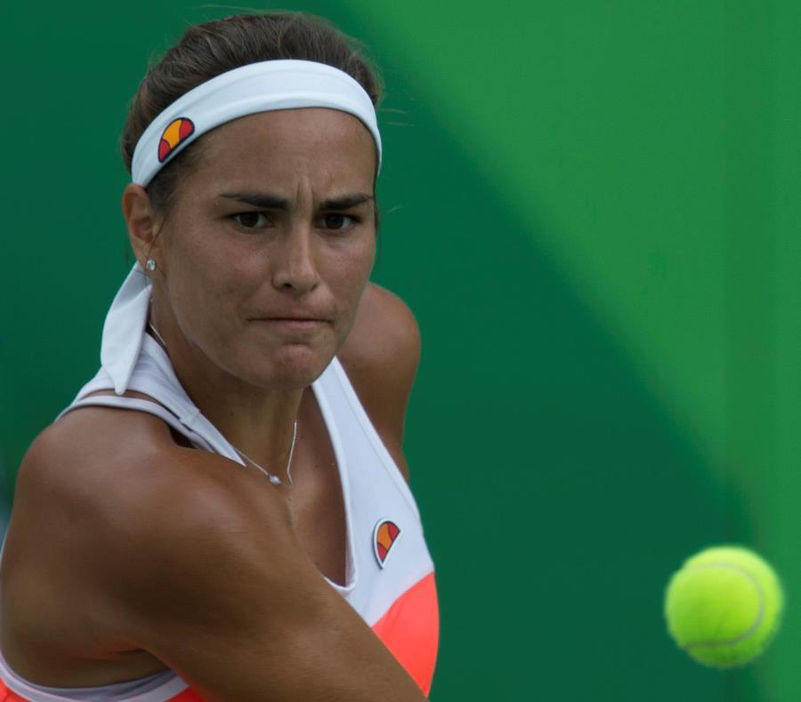 Mónica Puig tiene marca este año de 27-18 en partidos de sencillos en el tour de la WTA. (GFR Media) (semisquare-x3)