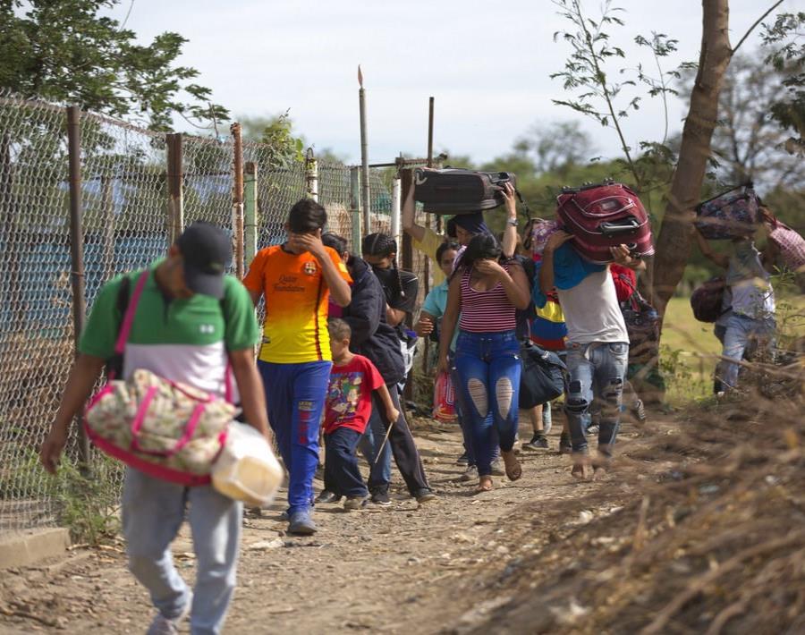 La sección del plan humanitario dedicada a Venezuela indica que 2.6 millones de venezolanos han emigrado a causa de la crisis (semisquare-x3)