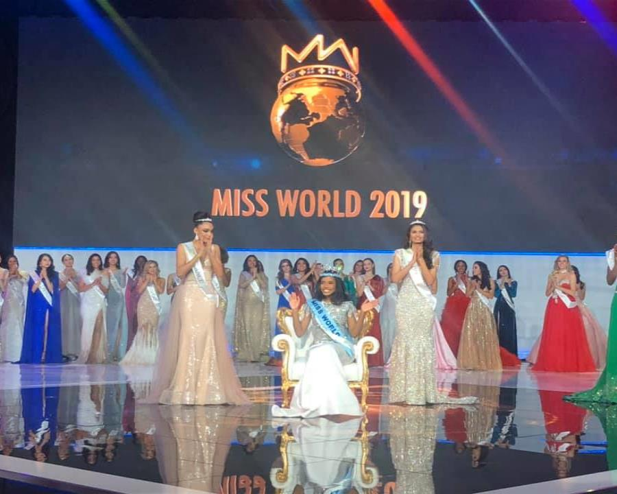Toni-Ann Singh se lleva la corona del Miss Mundo 2019