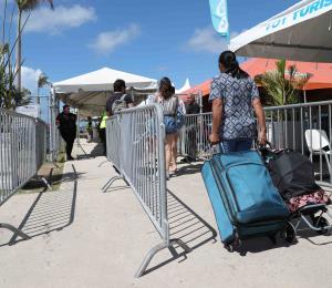 Sin largas filas de pasajeros hacia Vieques y Culebra