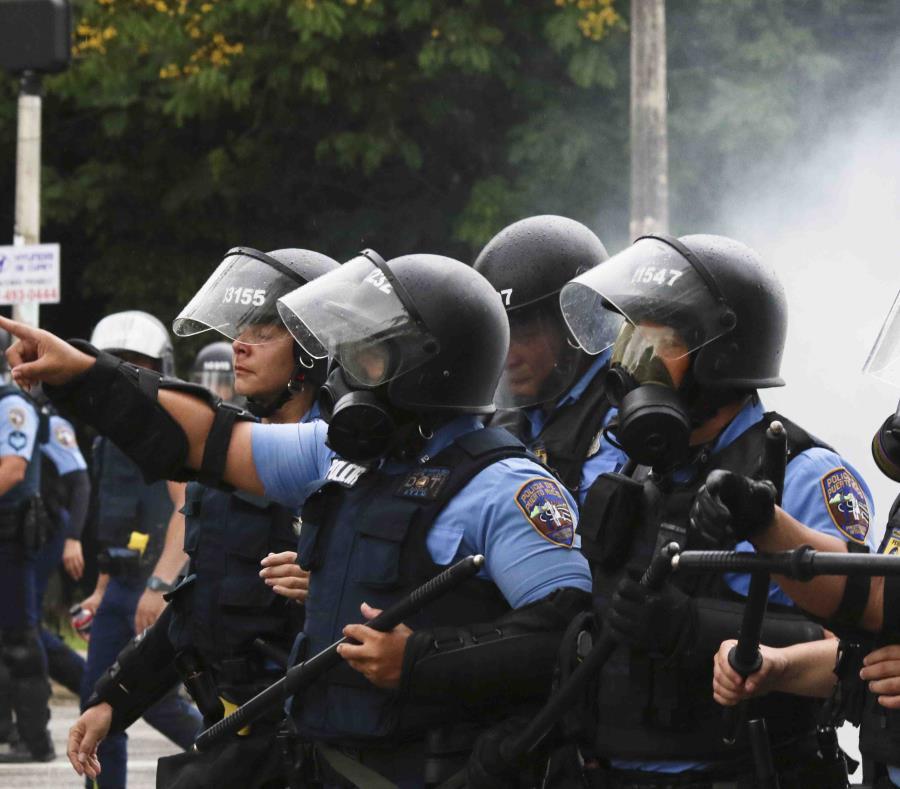 El recurso legal de la ACLU alega que esta y otras acciones de la Policía el 1 de mayo de 2018 fueron contrarias a reglamentos de la misma agencia establecidas como parte de la Reforma.(GFR Media) (semisquare-x3)