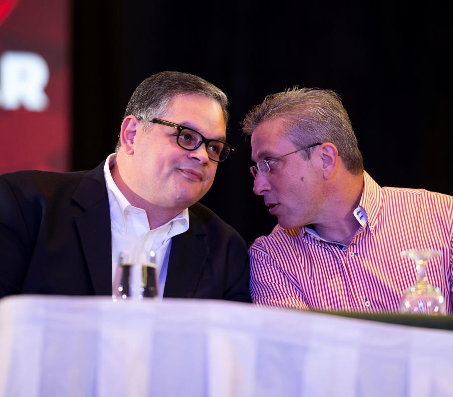 El presidente del PPD, Aníbal José Torres, defendió las decisiones que tomó la jefatura de la colectividad durante la elección del domingo. (semisquare-x3)