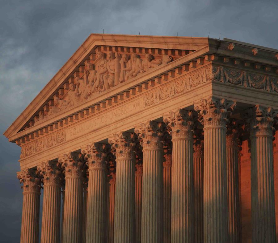 Parecía haber una división clara sobre los argumentos entre los jueces liberales y conservadores del tribunal durante la audiencia de 80 minutos. (AP) (semisquare-x3)