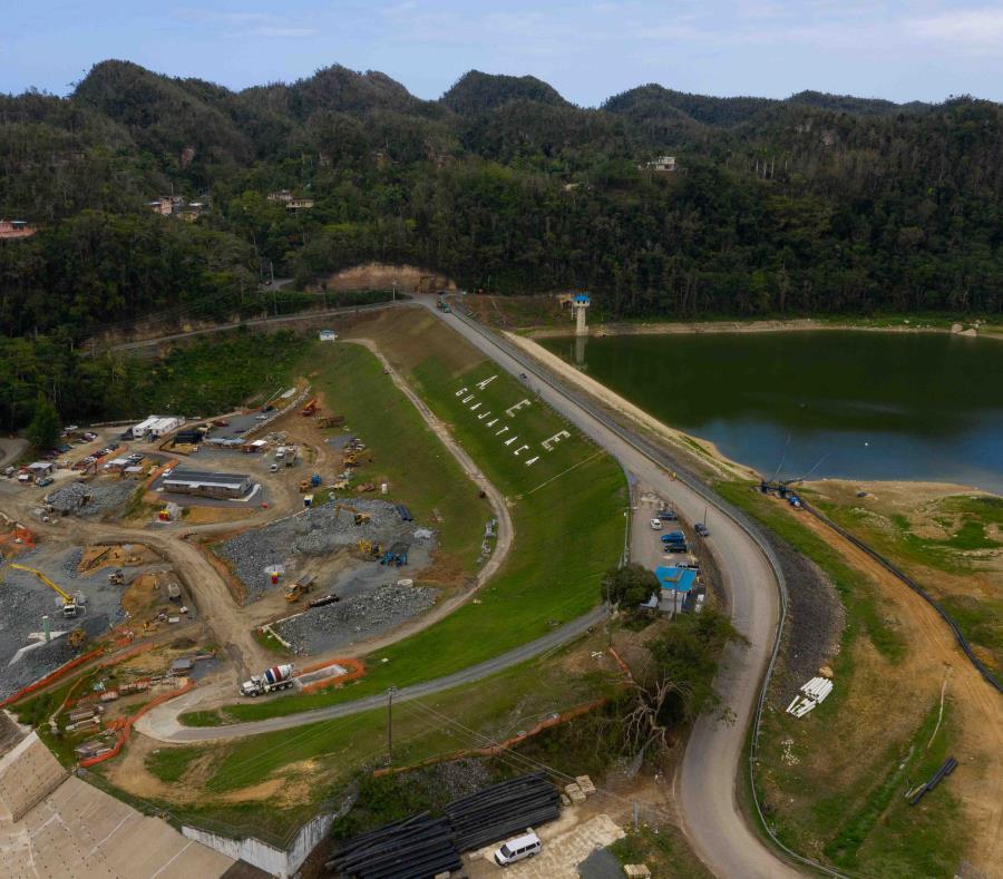 Los trabajos programados para el embalse Guajataca finalizarán este mes. (semisquare-x3)