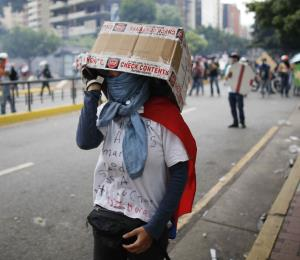 La represión venezolana