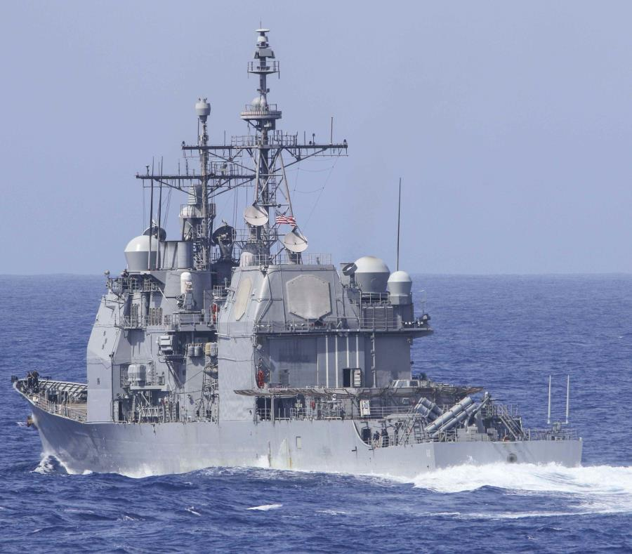 El USS Chancellorsville. (U.S. Navy) (semisquare-x3)