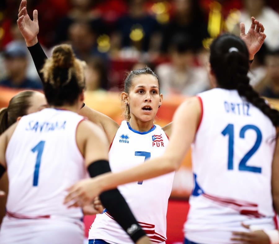 La esquina Stephanie Enright es una de las jugadoras convocadas para los entrenamientos de la Preselección de voleibol femenino. (GFR Media) (semisquare-x3)