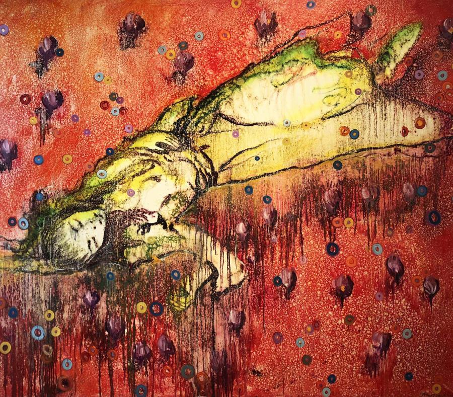 """Soñadora de la pradera"", por Archie Cortés. (Suministrada) (semisquare-x3)"