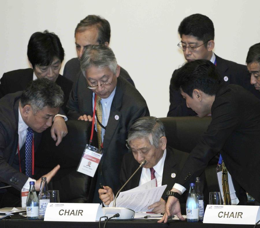 La agenda oficial para el sábado está centrada en cuestiones técnicas y a largo plazo. (AP/Eugene Hoshiko) (semisquare-x3)